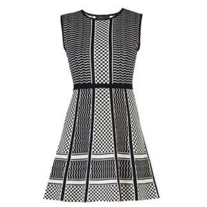 BCBG MaxAzria Alix Knit Jacquard Dress - M